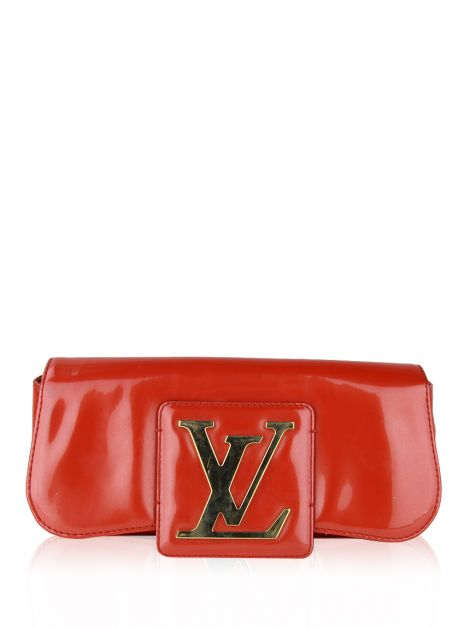 Clutch Louis Vuitton SoBe Laranja Sunset