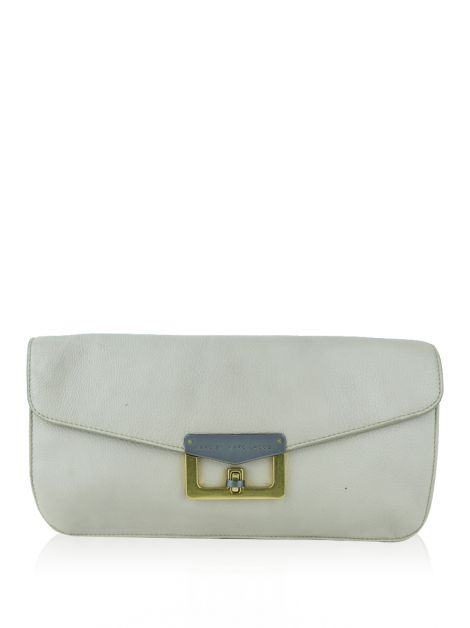 Clutch Marc By Marc Jacobs Couro Bege