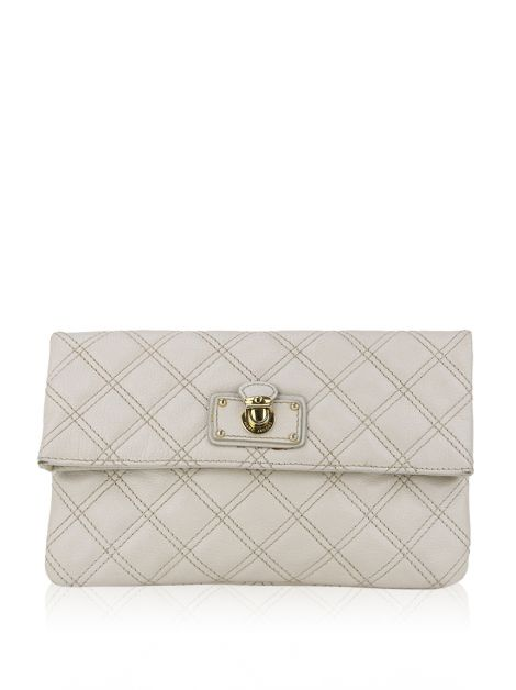 Clutch Marc Jacobs Matelassê Off White