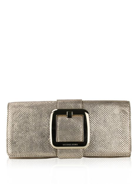 Clutch Michael Kors Sutton Dourada