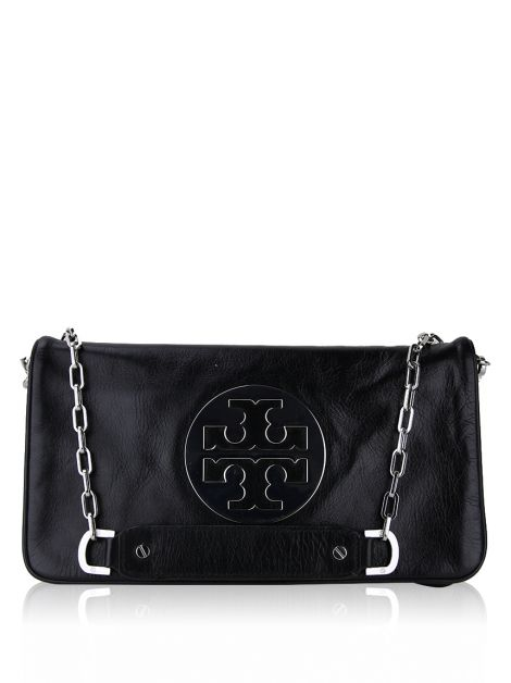 Clutch Tory Burch Reva Preto