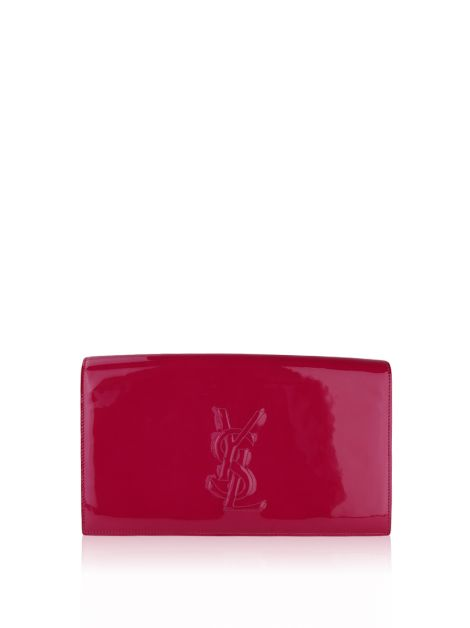 Clutch Yves Saint Laurent Belle du Jour Fuscia