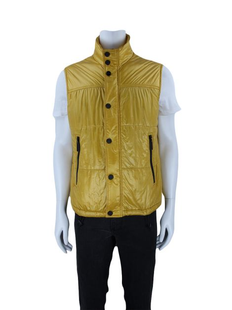 Colete Burberry Established 1856 Amarelo Masculina