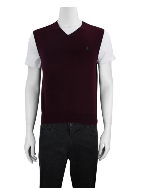 Colete Polo by Ralph Lauren Trico Burgundy
