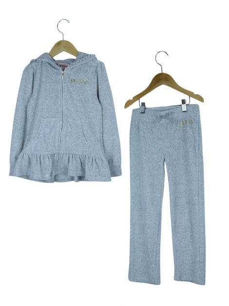 Conjunto Juicy Couture Moletom Cinza Infantil