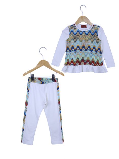 Conjunto Missoni Ondas Toddler
