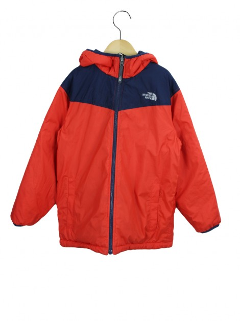 Jaqueta The North Face Dupla Face Bicolor Infanto Juvenil