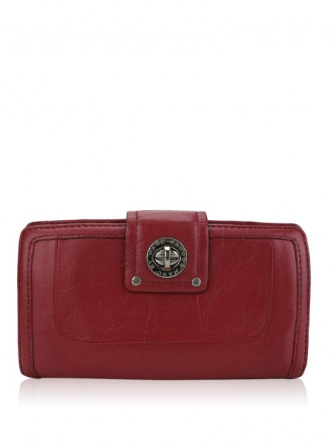 Carteira Marc By Marc Jacobs Totally Turnlock Vermelha