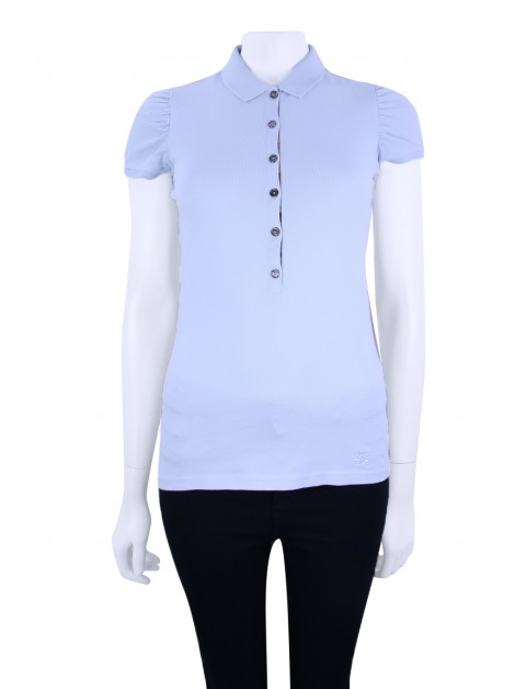 Polo Burberry Brit Azul Feminina