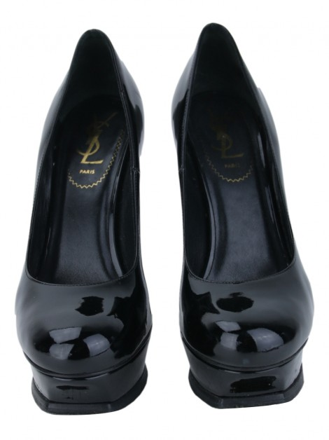Sapato Yves Saint Laurent Tribute 105 Preto