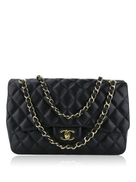 Bolsa Chanel Double Flap Jumbo