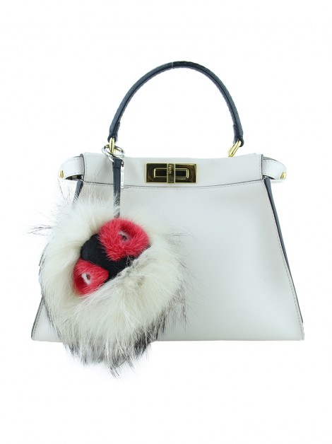 Chaveiro Fendi 'Archy' Monster Triciolor