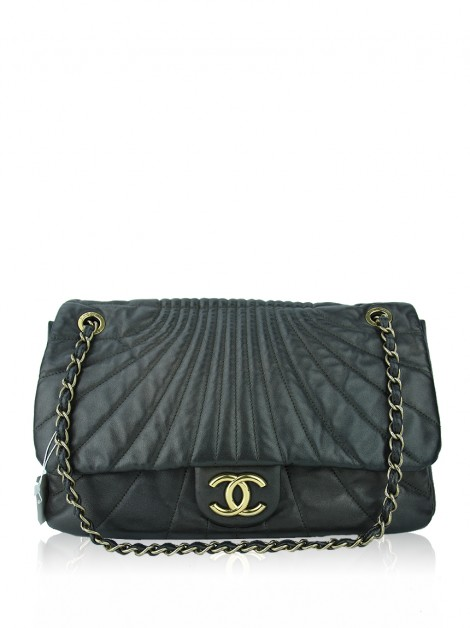 Bolsa Chanel Waves Chumbo