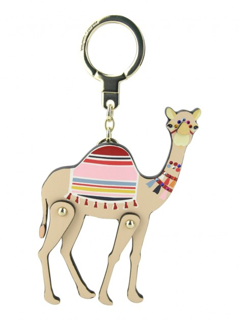 Chaveiro Kate Spade Spice Things Up Camel