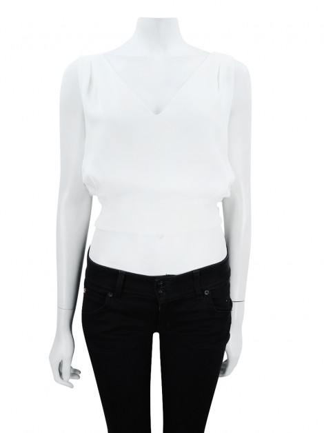 Blusa byNV Cropped Off White