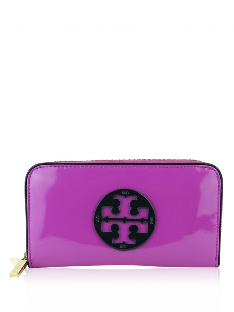 Carteira Tory Burch Continental Magenta