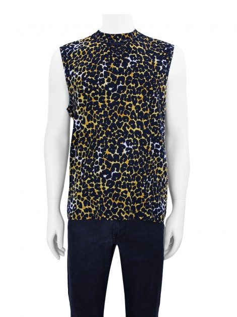 Blusa Prada Pop Art Leopard