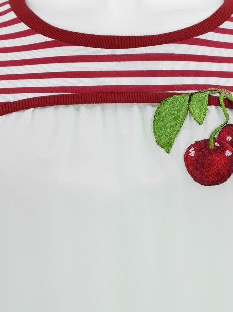 Blusa Dolce & Gabbana Cherry Mix