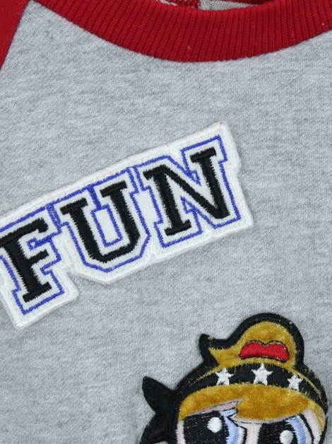 Blusa Monnalisa FUN Patches Infantil