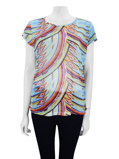 Blusa Lenny Niemeyer Spring Colorida
