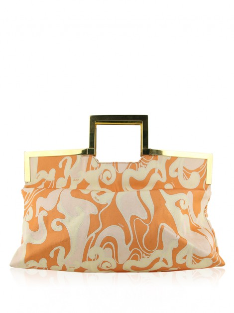 Bolsa Fendi Frame Abstract Print Vintage