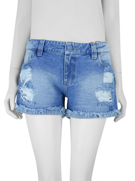 Shorts Tigresse Jeans Destroyed