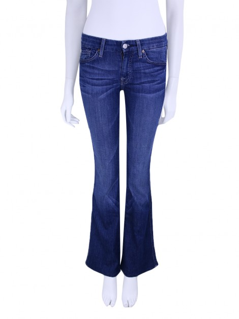 Calça Seven for All Mankind A Pocket Jeans Azul