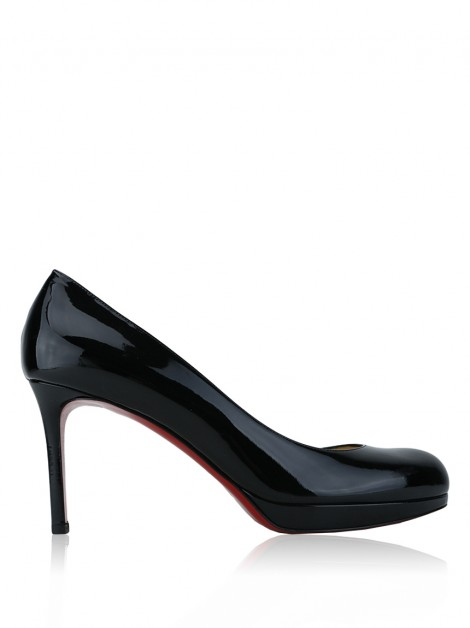 Sapato Christian Louboutin New Simple 85 Preto