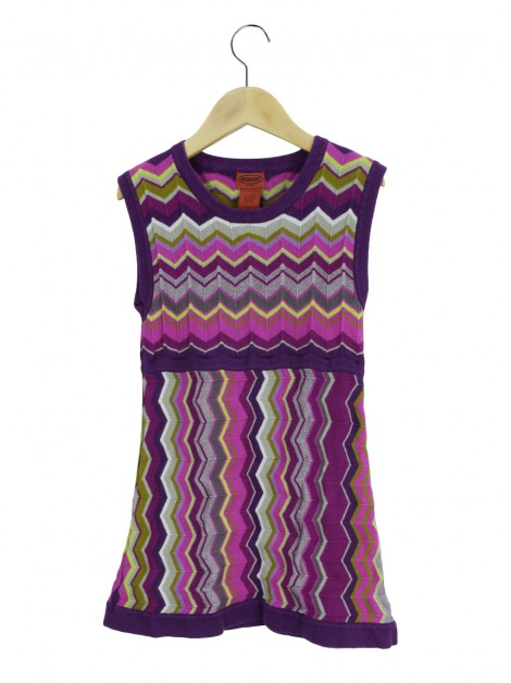 Vestido Missoni For Target Chevron Infantil