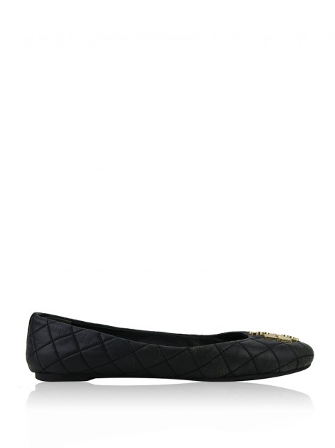 Sapatilha Tory Burch Laura Quilted Preto