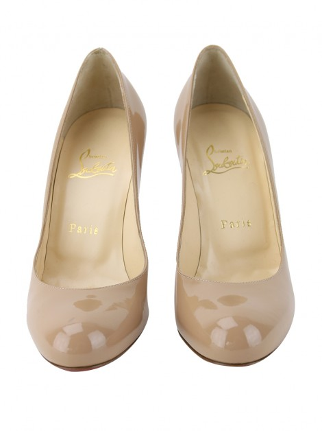 Sapato Christian Louboutin Simple Nude