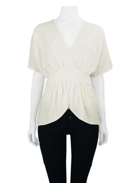 Blusa Cris Barros Ivy Off White