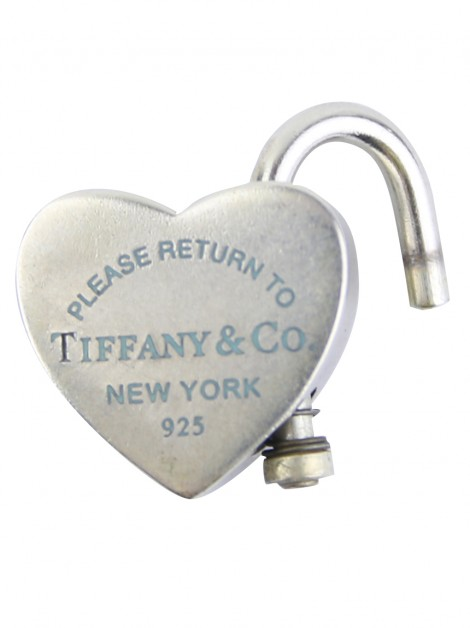 Pingente Tiffany & Co Return to Tiffany Heart Lock Prata