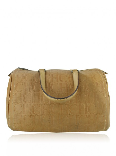 Bolsa Carolina Herrera Andy Boston Caramelo