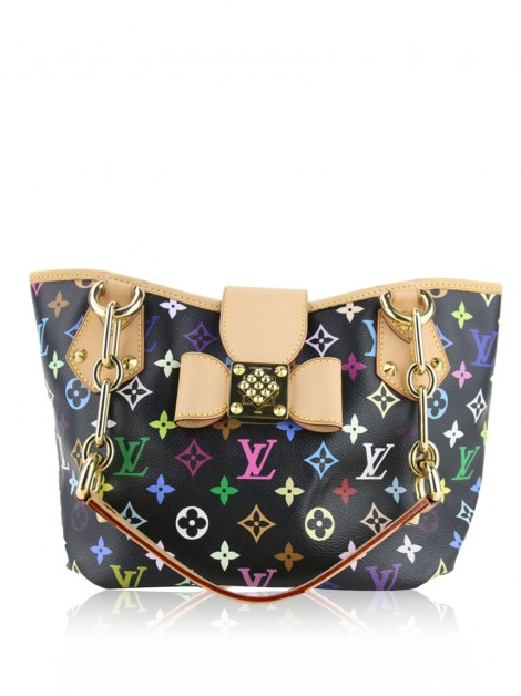 Bolsa Louis Vuitton Annie MM Monogram Multicolore