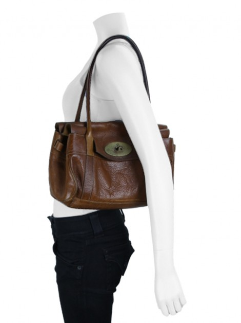 Bolsa Mulberry Bayswater East West Caramelo