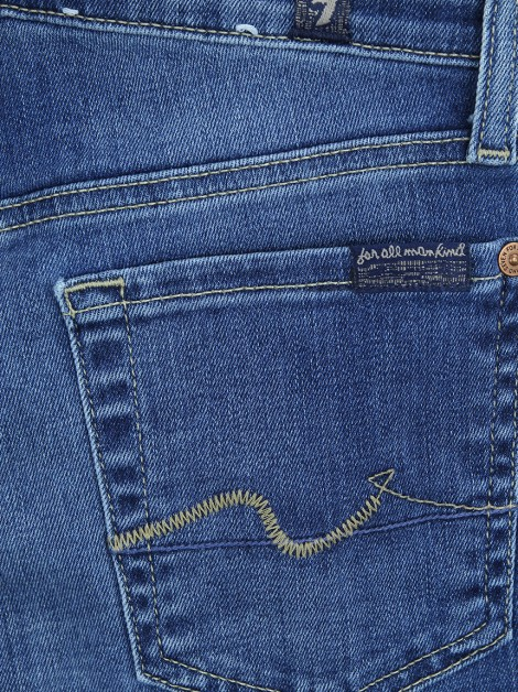 Calça Seven For All Mankind Gwenevere Jeans Azul