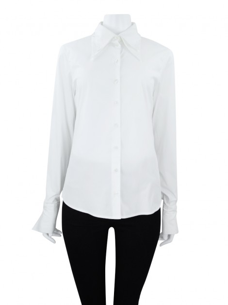 Camisa Anne Fontaine Tecido Off White