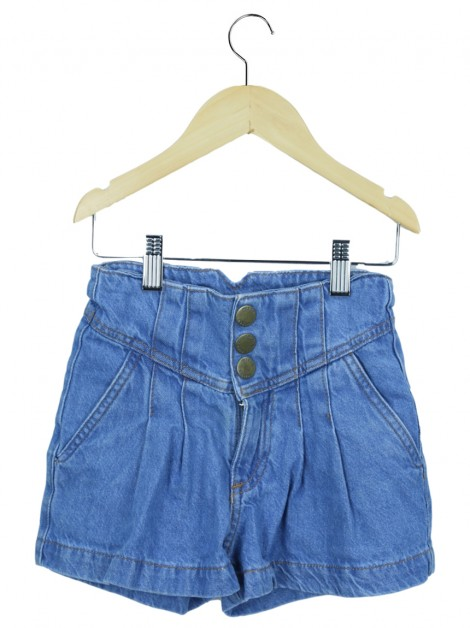 Shorts Mixed Kids High-Waist Jeans