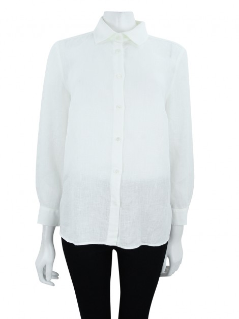 Camisa Max Mara Weekend Creme