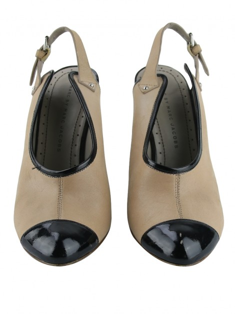 Sapato Marc By Marc Jacobs Couro Bicolor