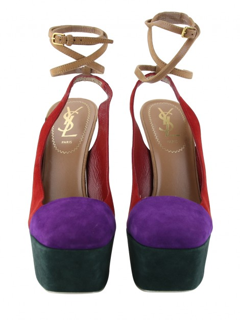Sapato Yves Saint Laurent Obsession Colorido