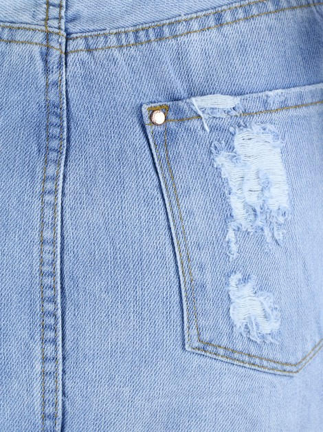 Saia Bobstore Jeans Destroyed