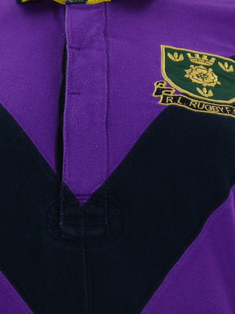 Blusa Polo Ralph Lauren Rugby Patches