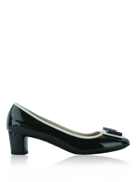 Sapato Salvatore Ferragamo My Flair Pump Verde