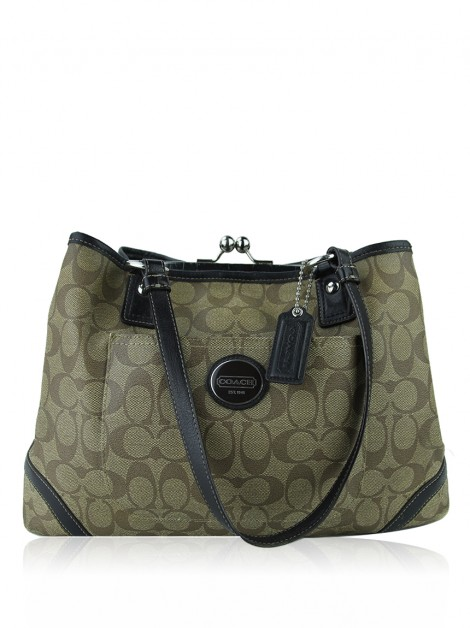 Bolsa Coach Peyton Framed Shopper