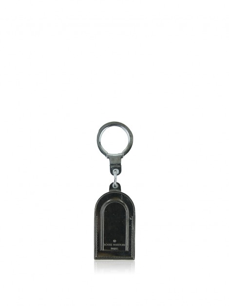 Chaveiro Louis Vuitton Luggage Tag Prateado