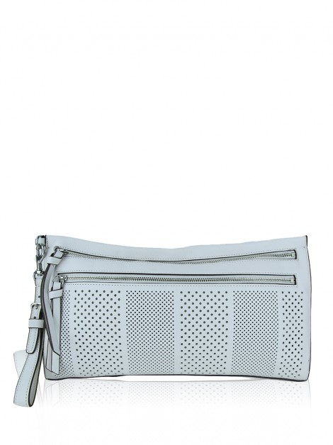 Clutch Coach Couro Off-White