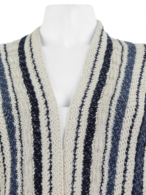 Casaco Mixed Tricot Tricolor