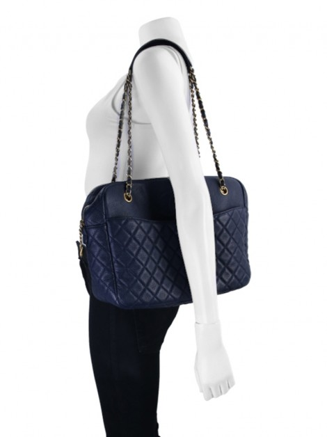 Bolsa Chanel CC Double Chain Camera